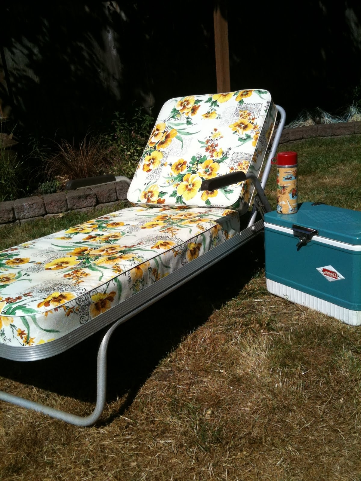 Most Recently Released Vintage Outdoor Chaise Lounge Chairs In Vintage Aluminum Lounge Chair • Lounge Chairs Ideas (View 5 of 15)