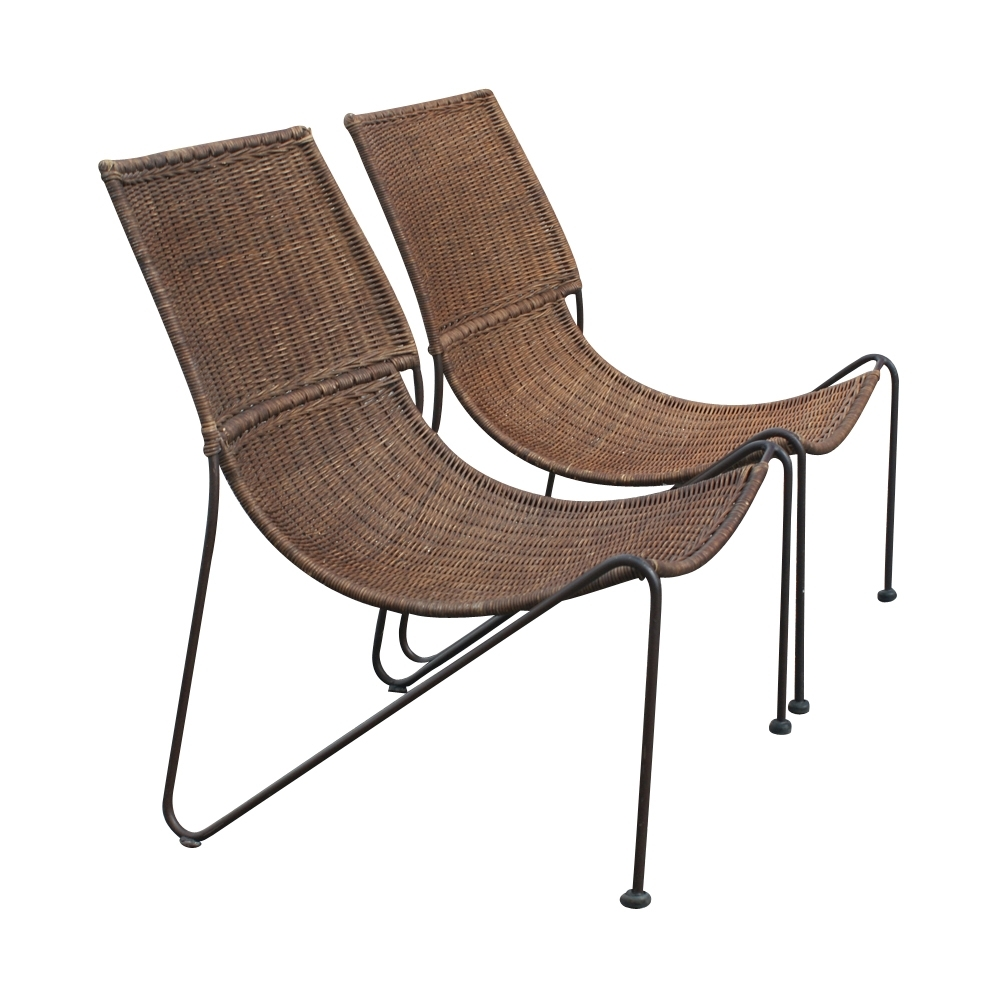 Most Recently Released Vintage Outdoor Chaise Lounge Chairs With Regard To Outdoor Midcentury Retro Style Modern Architectural Vintage (View 6 of 15)