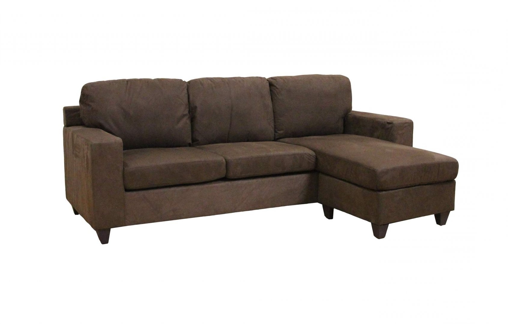 Most Recently Released Vogue Microfiber Reversible Chaise Sectional Sofa, Multiple With Within Sofas With Reversible Chaise (View 5 of 15)