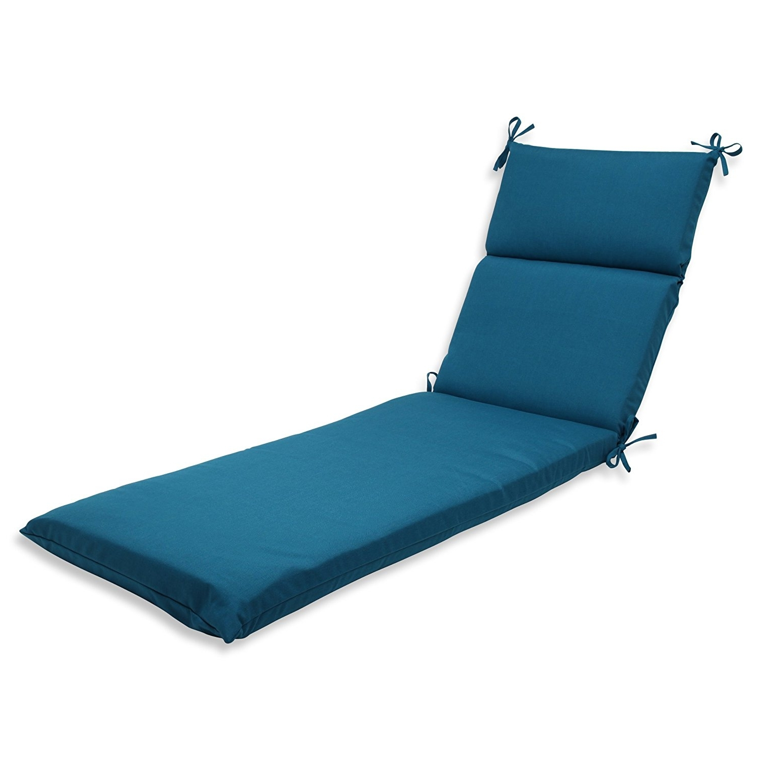 Most Up To Date Amazon: Pillow Perfect Chaise Lounge Cushion With Sunbrella With Regard To Chaise Cushions (View 14 of 15)