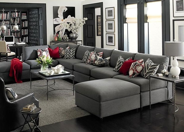Most Up To Date Charcoal Grey Sofas Intended For Epic Charcoal Grey Couch 11 In Sofas And Couches Ideas With (View 6 of 10)