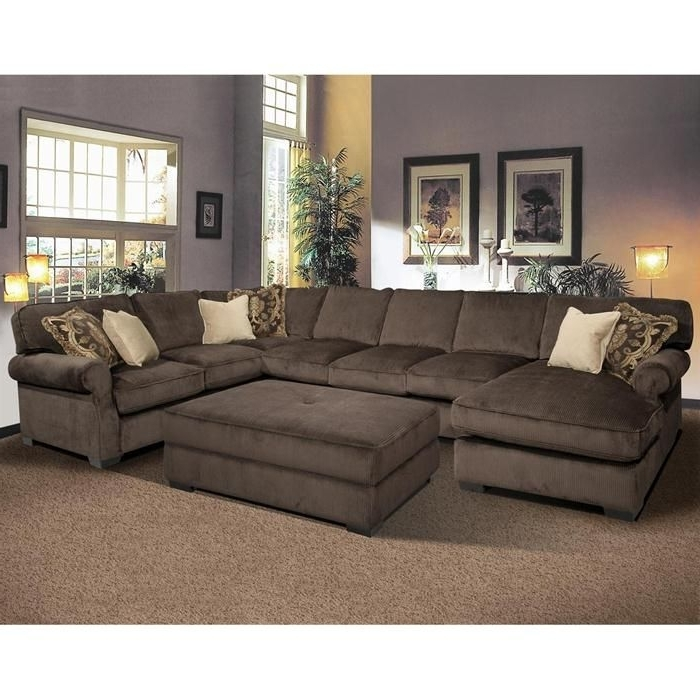 Most Up To Date Cheap Sectionals With Ottoman In Sectional Sofa And Ottoman, My Dream Couch For The Family Room (View 7 of 10)