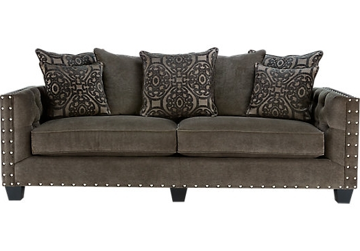 Most Up To Date Cindy Crawford Sofas Throughout Shop For A Cindy Crawford Home Sidney Road Gray Sofa At Rooms To (View 8 of 10)