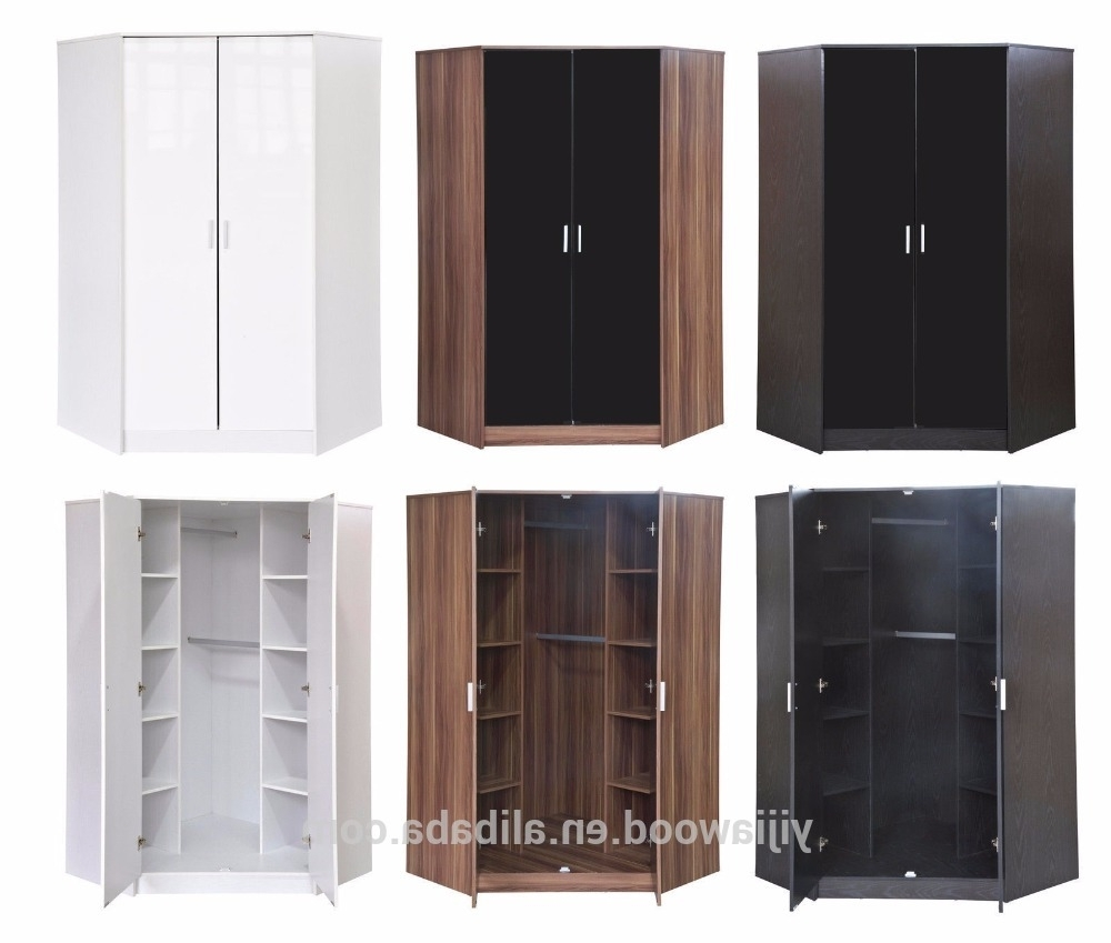Most Up To Date Corner Wardrobe Wholesale, Wardrobe Suppliers – Alibaba Inside 2 Door Corner Wardrobes (View 12 of 15)