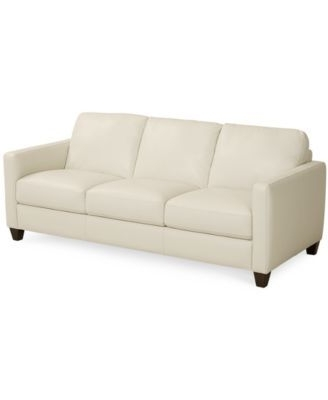 Most Up To Date Emilia Leather Sofa, Only At Macy's (View 8 of 10)