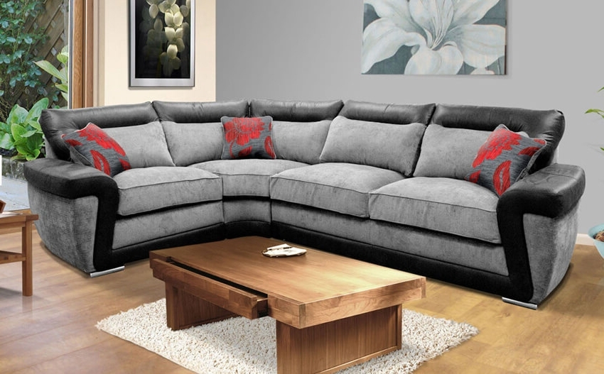 Most Up To Date Fabric Corner Sofas Within Most Creative Ideas To Make Cozy Fabric Corner Sofas (View 7 of 10)