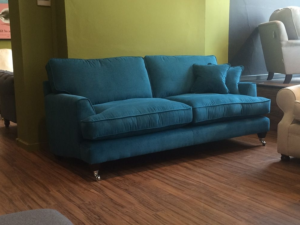 Most Up To Date Florence Grand Sofas Pertaining To Florence Large Sofa In Vogue Teal Http://www (View 10 of 10)