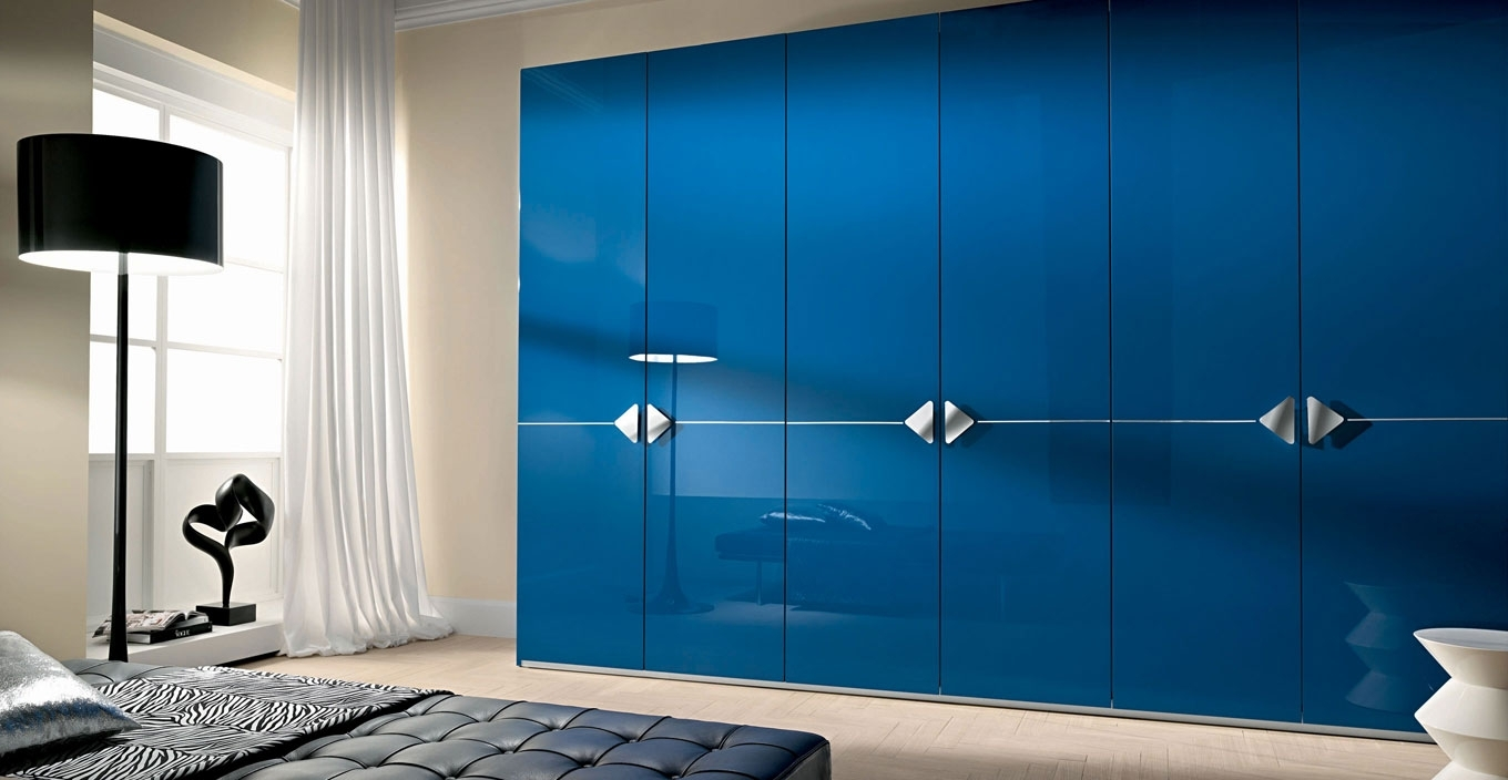 Most Up To Date High Gloss Doors Wardrobes Within Modern Hinged Door Wardrobes – Iwardrobes.co (View 14 of 15)