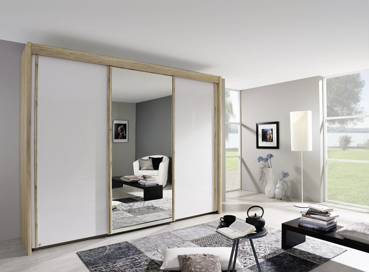 Most Up To Date Rauch Imperial Sliding Door Wardrobe With High Polish White Doors Throughout Rauch Imperial Wardrobes (View 6 of 15)
