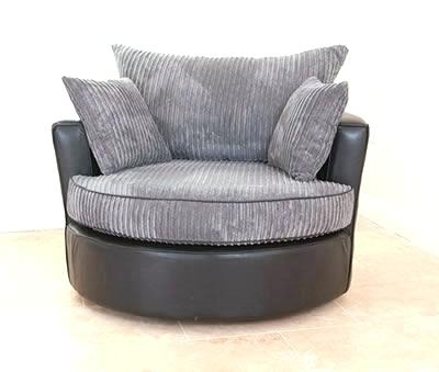 Most Up To Date Round Swivel Cuddle Chair – Swivel Chair Design Inside Sofas With Swivel Chair (View 3 of 10)