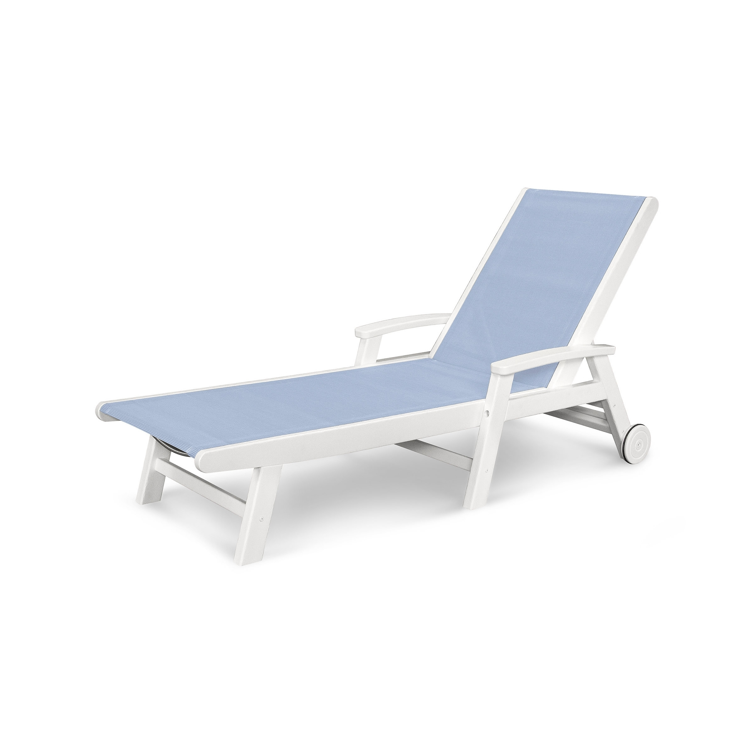 Most Up To Date Sling Chaise Lounge Chairs For Outdoor Inside Polywood Furniture (View 9 of 15)