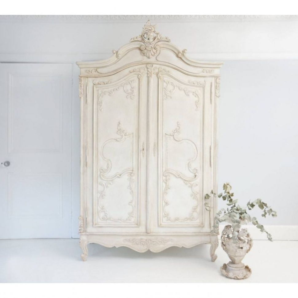Most Up To Date Sophia Wardrobes Throughout Home Design : Fabulous French Shabby Chic Wardrobes Sophia (View 13 of 15)