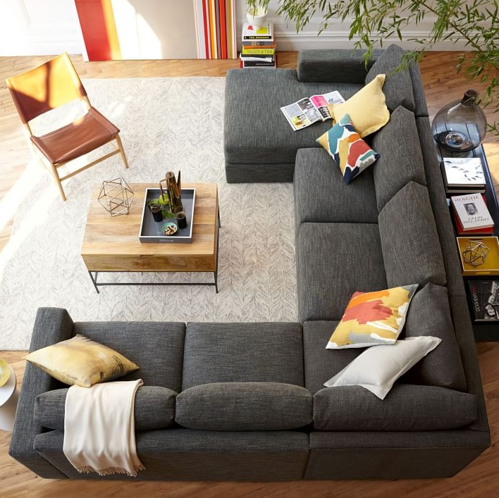 Most Up To Date The Best Luxury Living Room Designs From Our Favorite Celebrities Regarding Gray U Shaped Sectionals (View 9 of 10)
