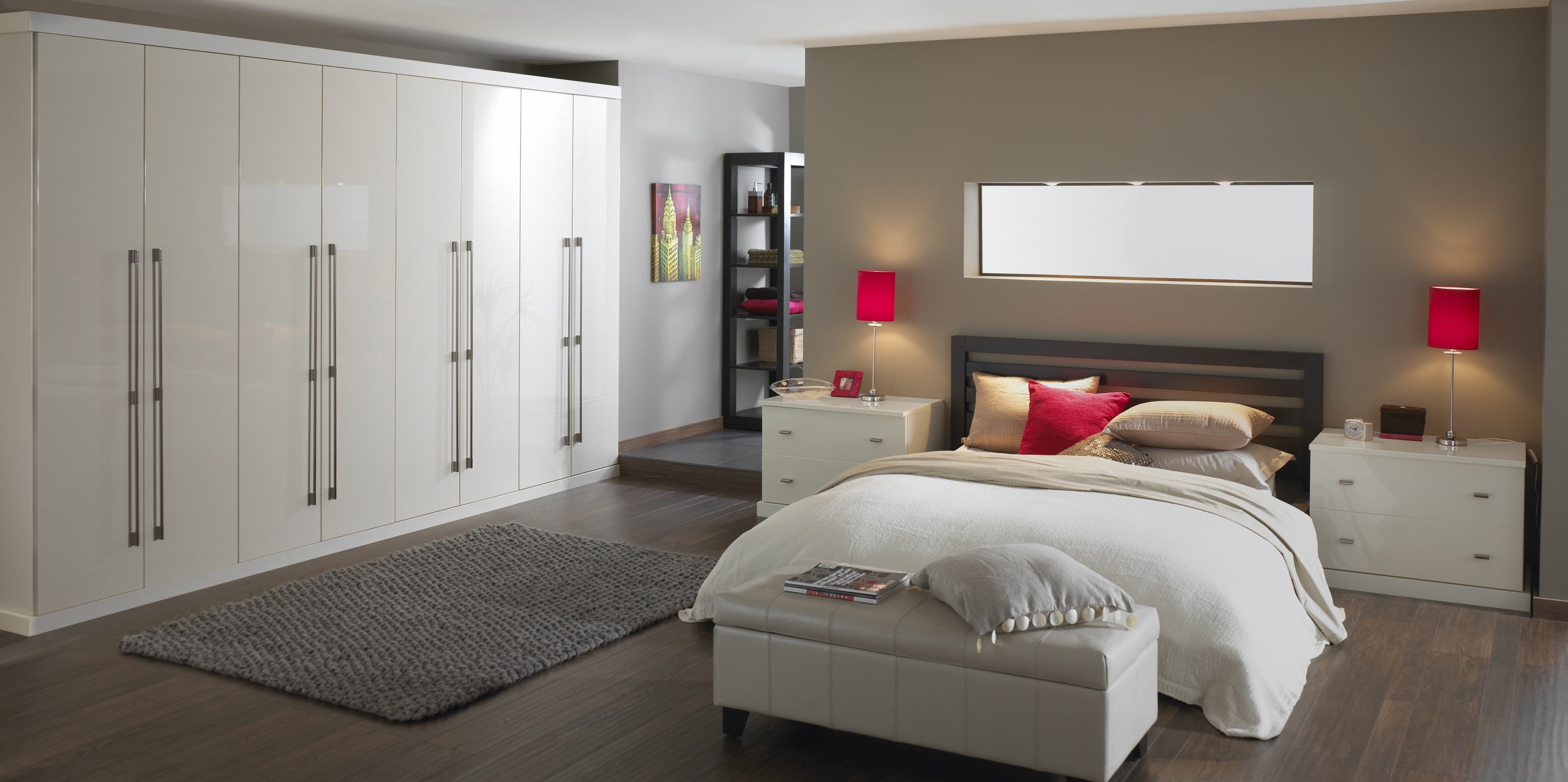 Most Up To Date White Bedroom Wardrobes Intended For White Fitted Bedroom Units • White Bedroom Ideas (View 11 of 15)