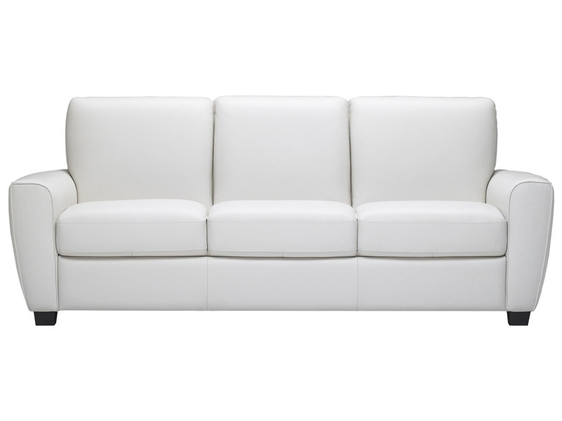 Most Up To Date White Leather Sofas With White Leather Sofa Couch Awesome White Leather Sofa – Home Design (View 10 of 10)