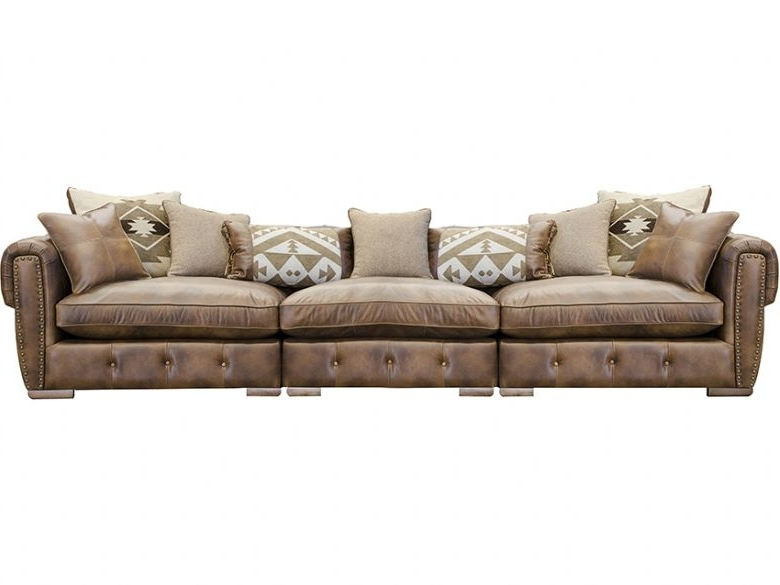 Most Up To Date Wilson Extra Large Leather Sofa – Lee Longlands With Regard To Extra Large Sofas (View 6 of 10)