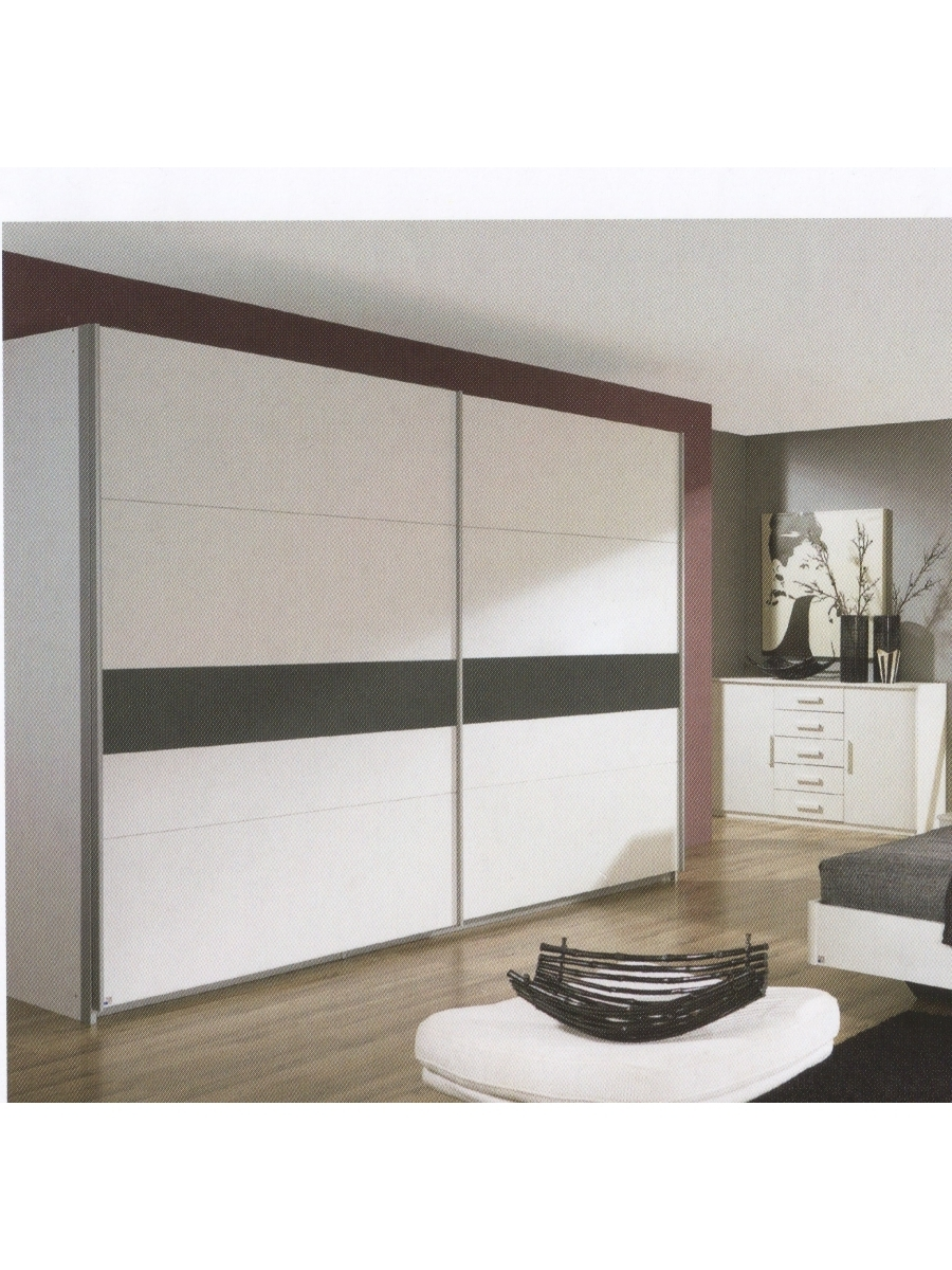 Narbonne 2 Door Sliding Wardrobe W181Cm – Rauch Furniture Pertaining To Most Current Rauch Sliding Wardrobes (View 8 of 15)