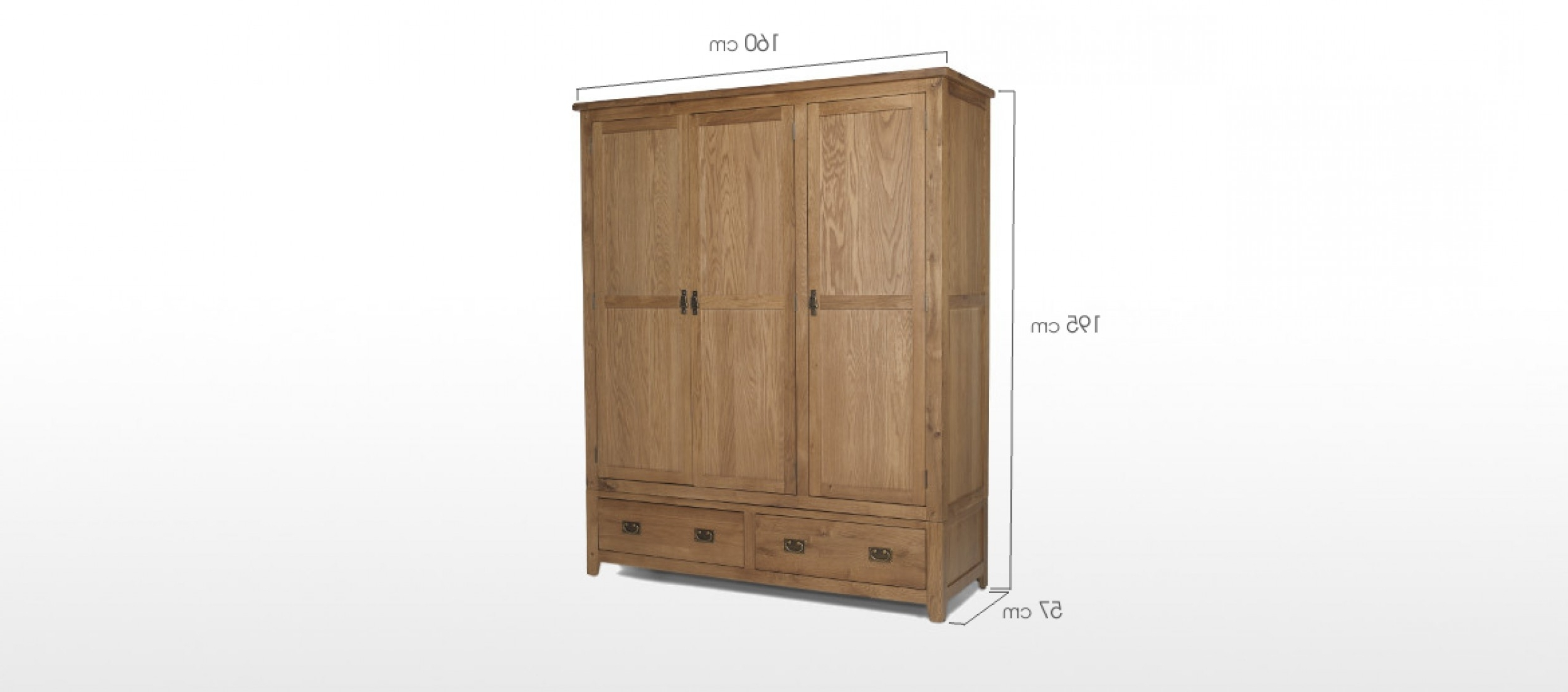 Narrow Wardrobe With Drawers Single Pine Tall Solid Wood This Is Within Newest Single Pine Wardrobes (View 11 of 15)