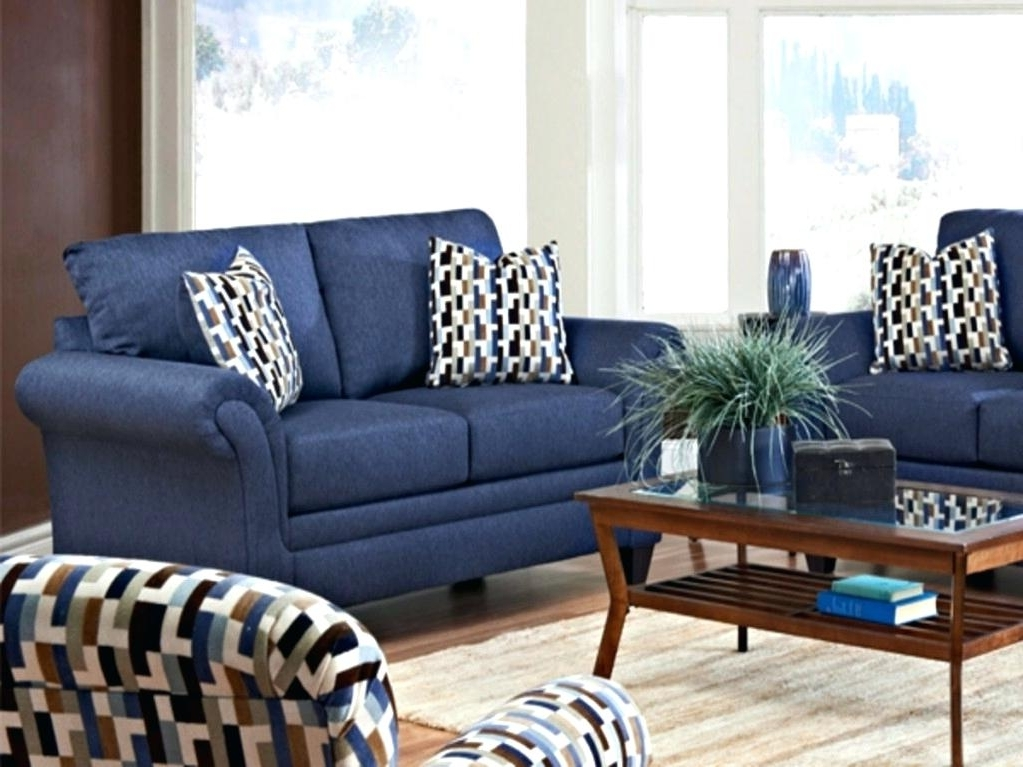 Navy Living Room Furniture Navy Blue And Gold Living Room Navy Throughout 2017 Blue Sofa Chairs (View 8 of 10)