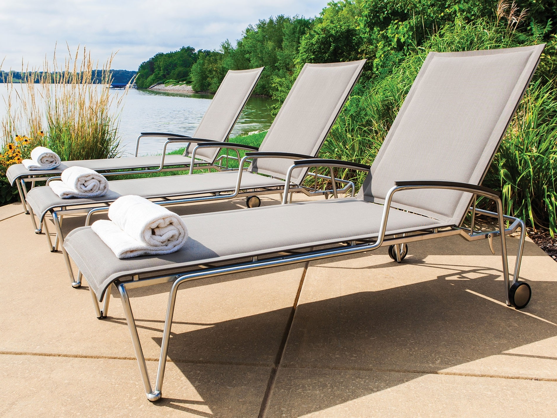 New Pool Chaise Lounge — Stereomiami Architechture : Make A Pool Intended For Preferred Pool Chaises (View 3 of 15)