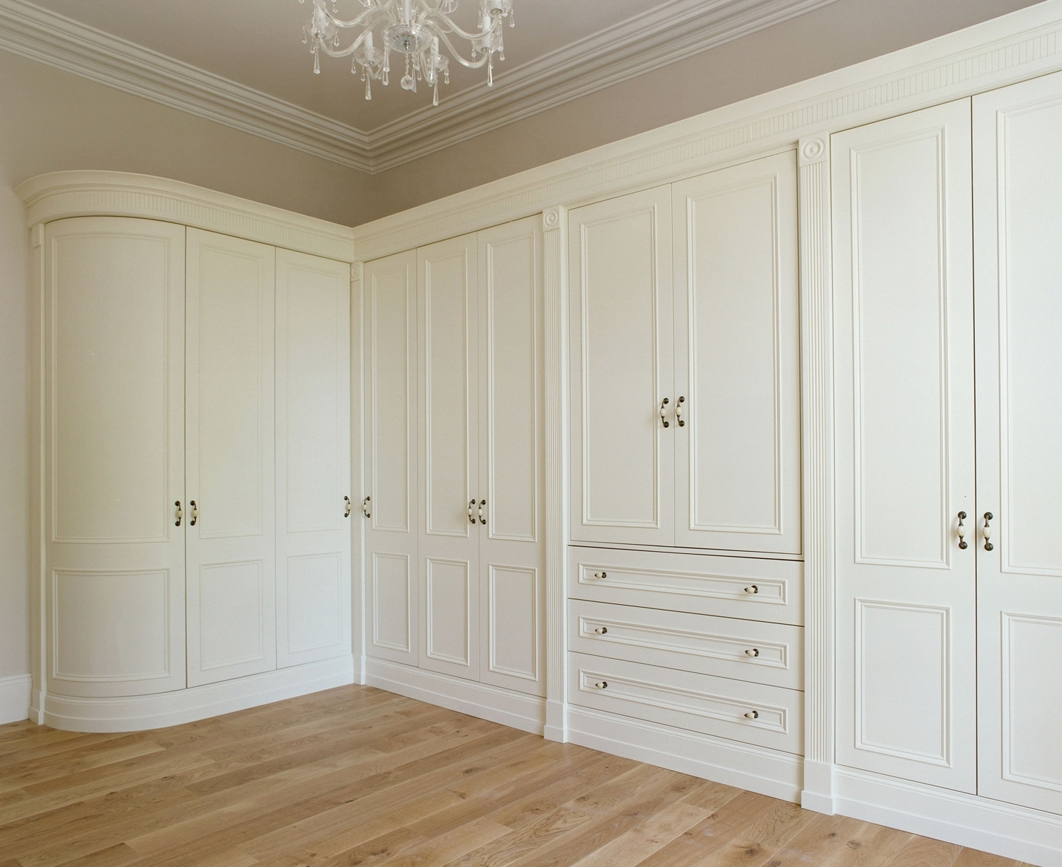 Featured Photo of French Style Fitted Wardrobes
