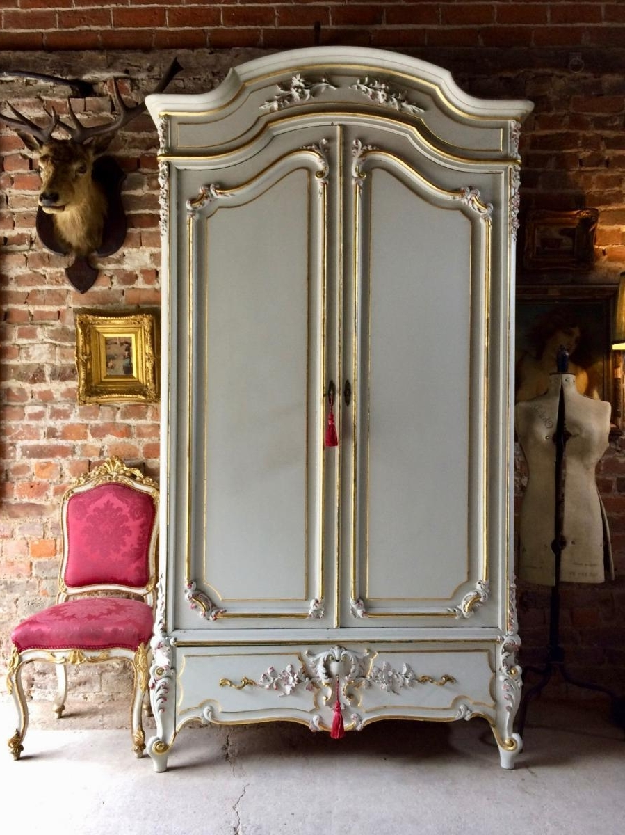 Newest Armoire French Wardrobes Pertaining To Put Your Dresses In The Elegant French Armoire – Bellissimainteriors (Gallery 11 of 15)