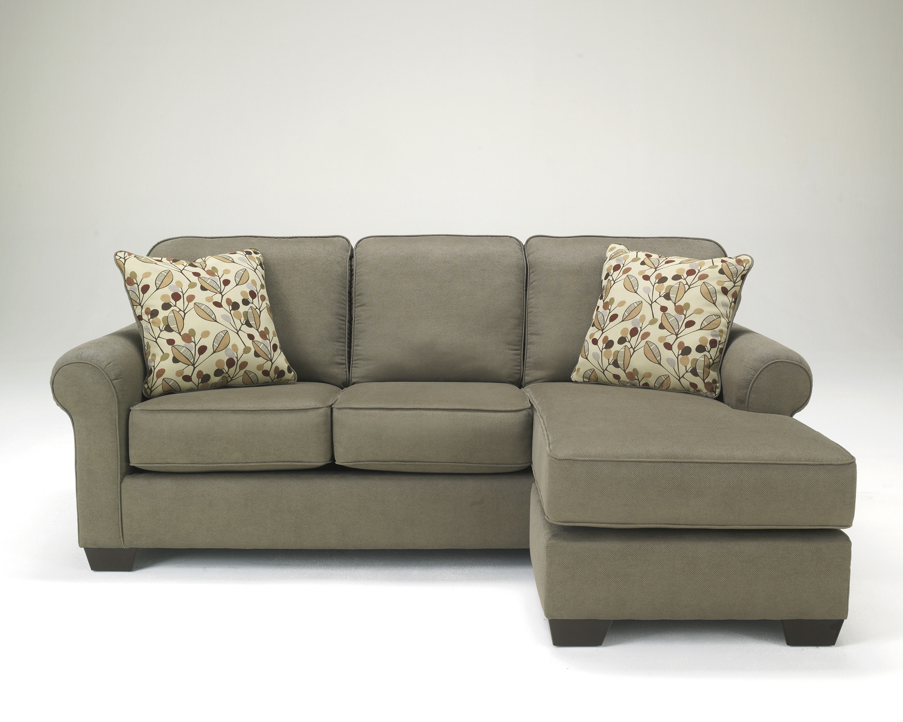 Newest Ashley Furniture Danely Dusk Sofa Chaise Sectional (View 11 of 15)
