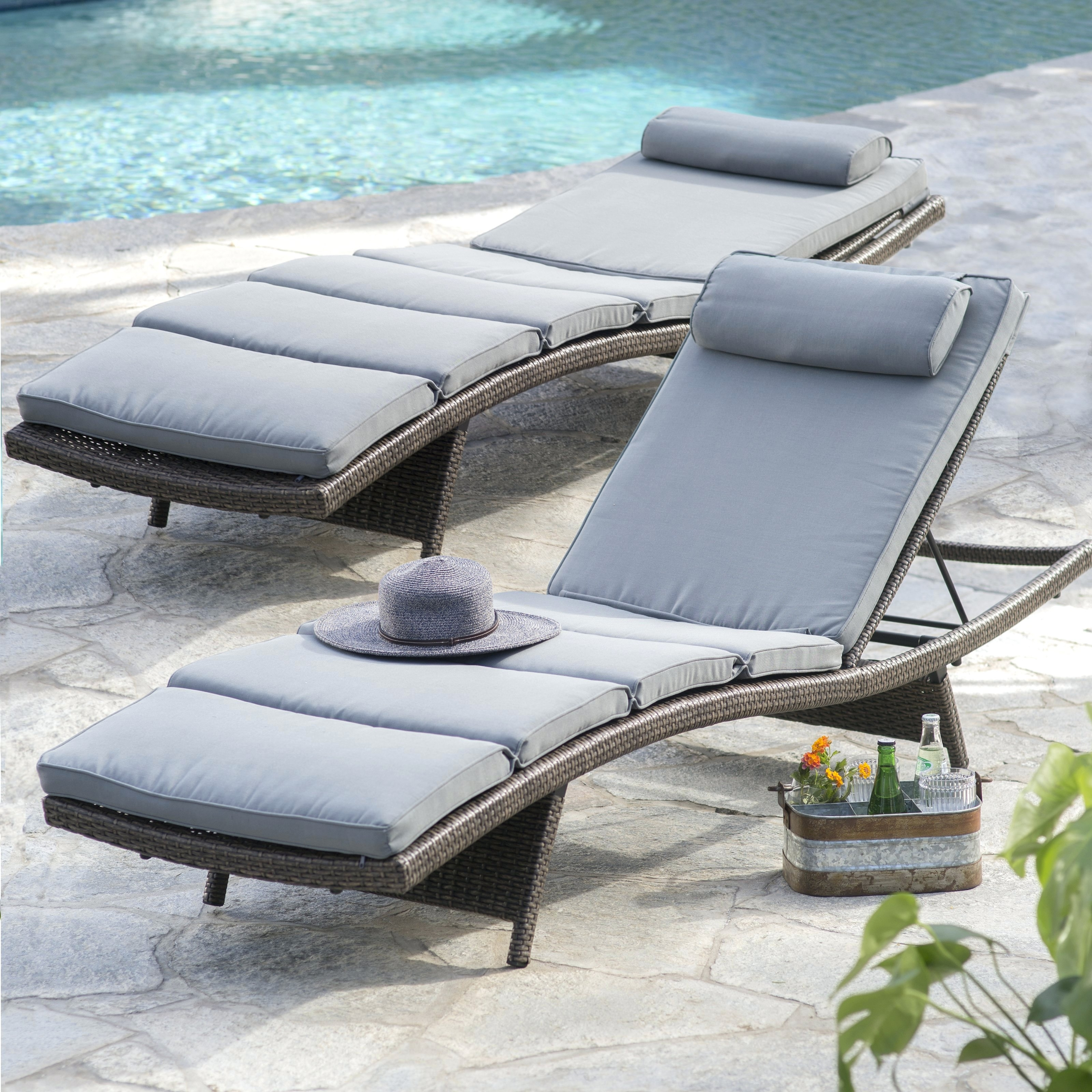 Newest Boca Chaise Lounge Chair Outdoor Pillow • Lounge Chairs Ideas Regarding Boca Chaise Lounge Outdoor Chairs With Pillows (View 3 of 15)