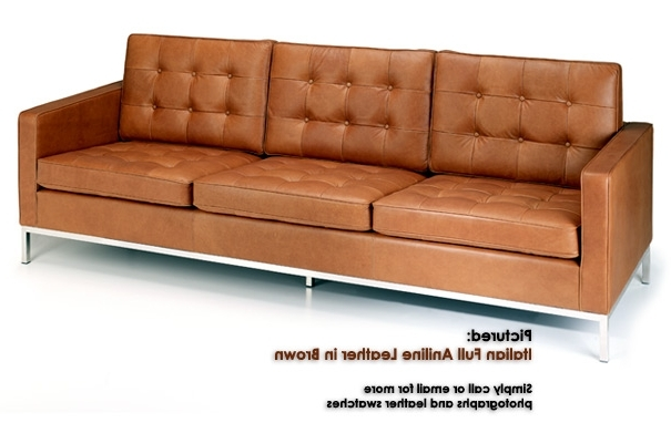 Newest Florence Knoll 3 Seater Sofas Pertaining To Knoll Three Seater Sofa From Iconic Interiors (View 6 of 10)
