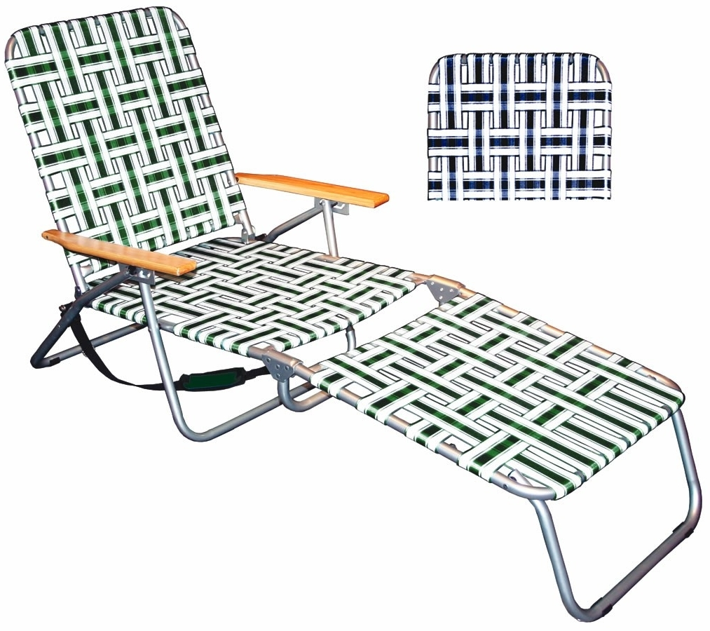 Newest Folding Chaise Lounge Chair Plastic Folding Chaise Lounge In Inside Folding Chaise Lounge Chairs (View 10 of 15)