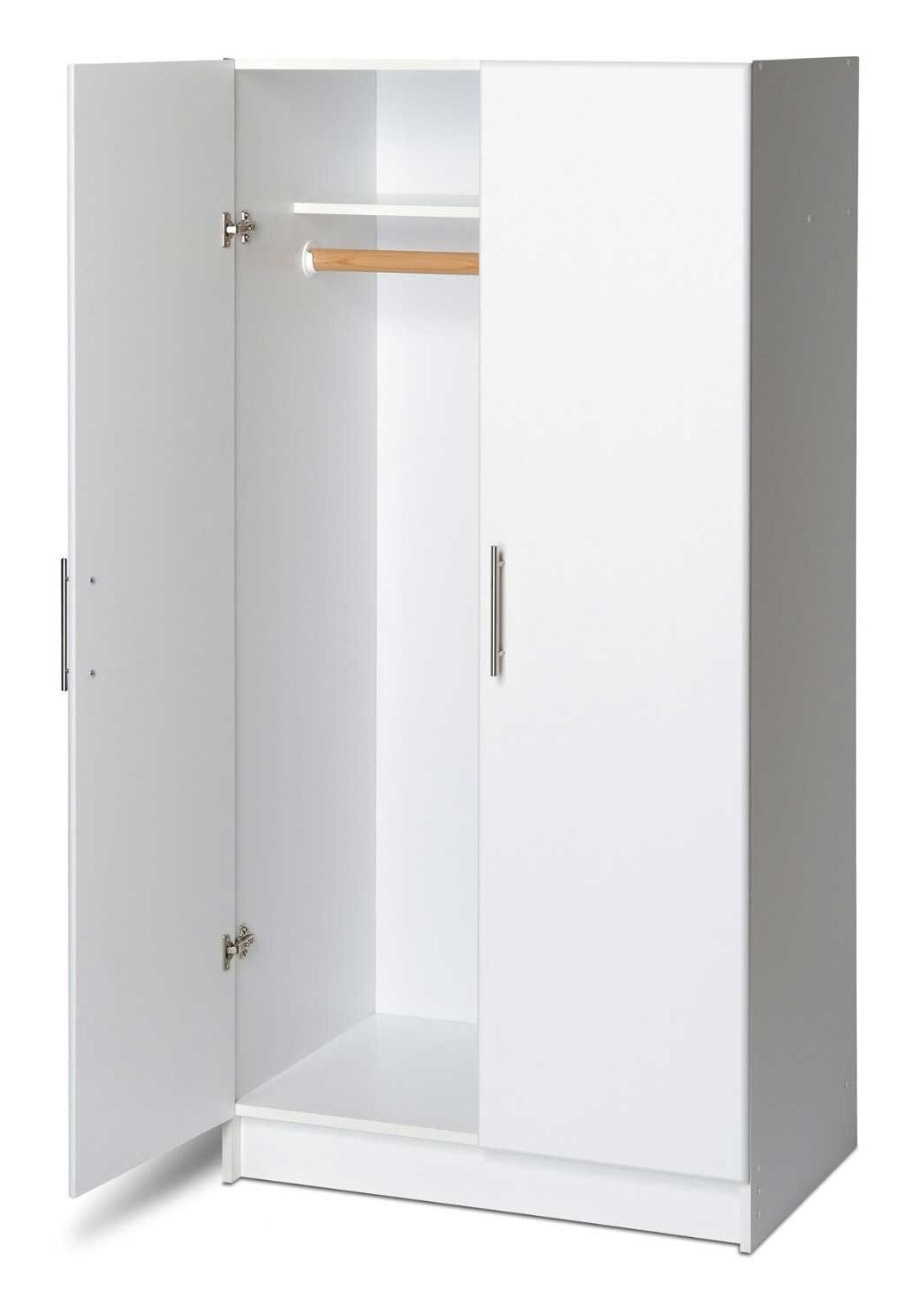 Newest Furniture: Keep Your Space Elegant Using Clothing Armoire Intended For White Cheap Wardrobes (View 10 of 15)
