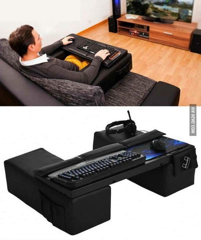 Newest Gaming Sofa Chairs In Anyone Game From Their Couch With A Keyboard And Mouse? How? (View 8 of 10)