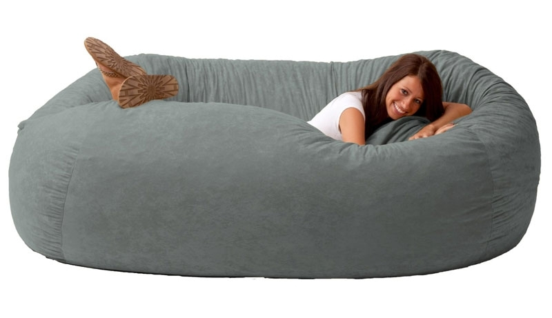 Newest Giant Bean Bag Sofa (View 8 of 10)