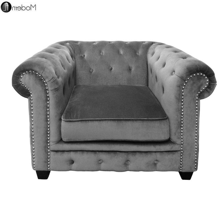 Newest Grey Sofa Chairs With Regard To 173 Best Chairs Images On Pinterest (View 9 of 10)