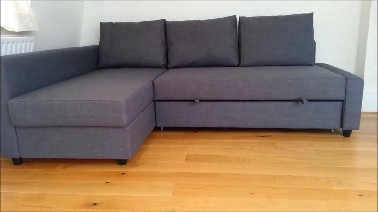 Newest Ikea Sofa Bed – Youtube Intended For Sofa Bed Chaises (View 7 of 15)