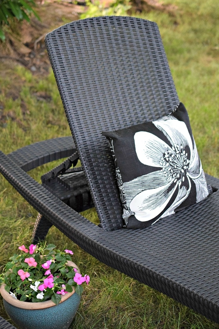 Newest Keter Chaise Lounge Chairs Pertaining To Summer Patio & Garden Tour (View 13 of 15)