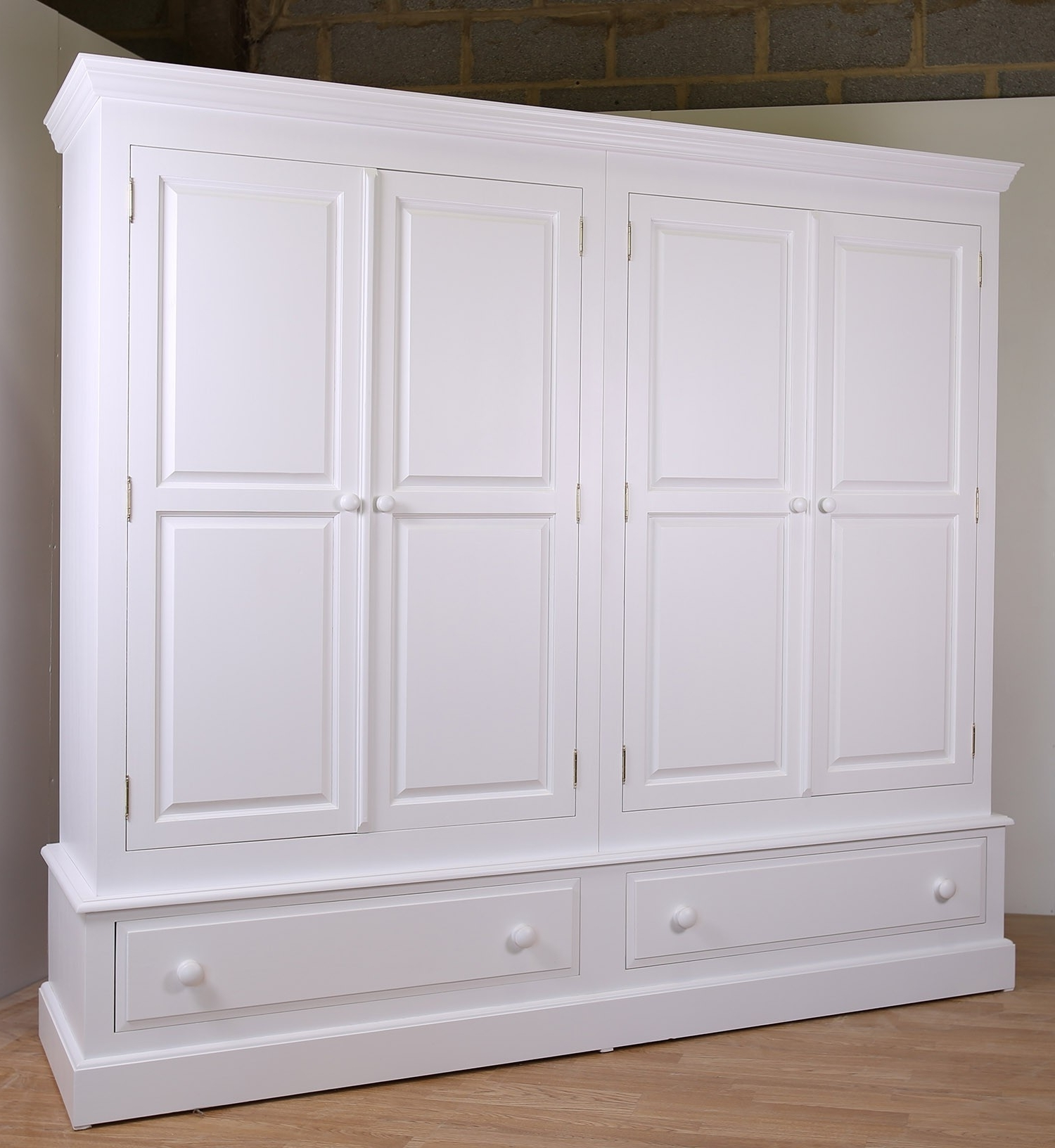 Featured Photo of Large White Wardrobes With Drawers