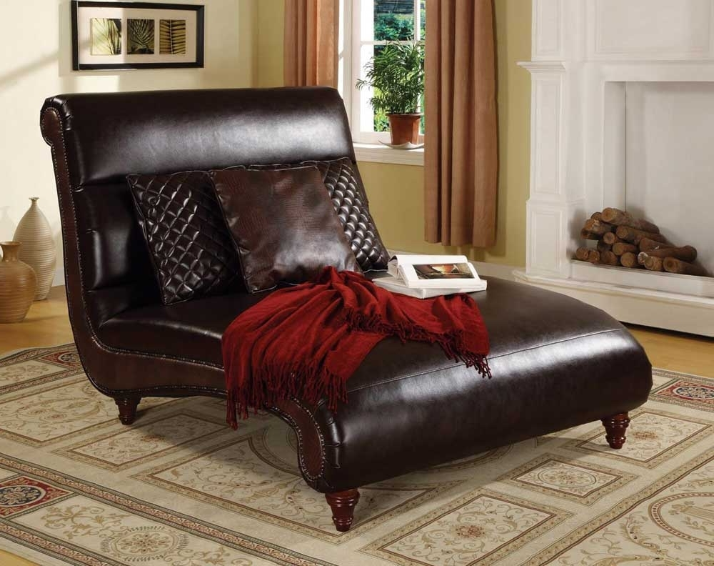 Newest Leather Chaise Lounges Inside Special Treatment Leather Chaise Lounge Sofa — Lustwithalaugh Design (View 11 of 15)