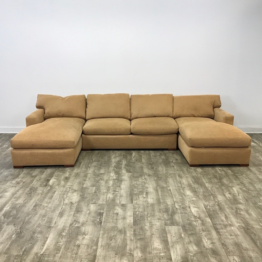 Newest Luxury Gold U Sectional Sofa With Gold Sectional Sofas (View 7 of 10)