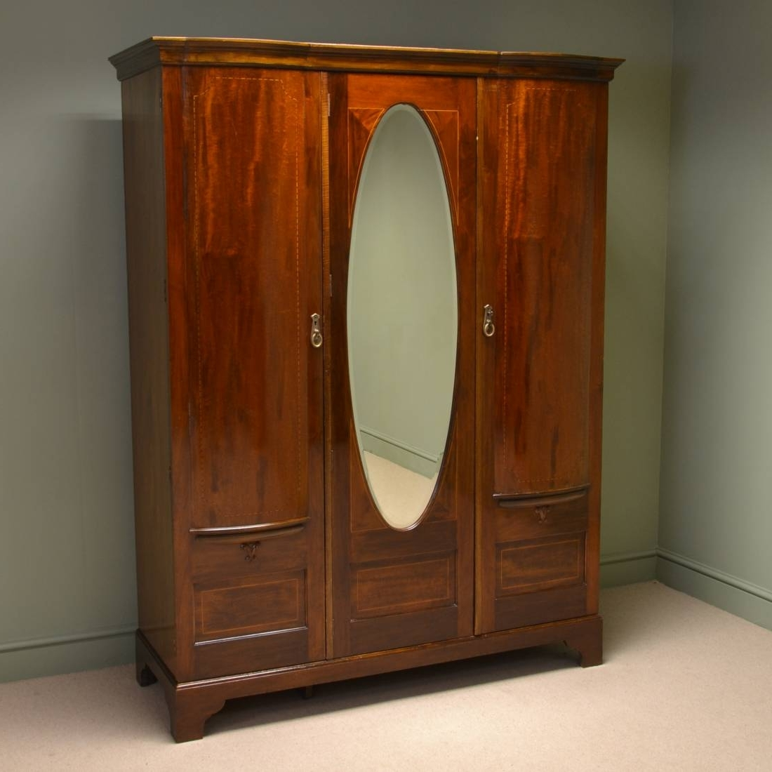 Newest Maple & Co Antique Furniture – Antiques World With Regard To Antique Single Wardrobes (View 10 of 15)