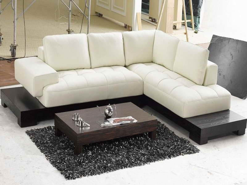 Newest Modern Sectional Sofas For Small Spaces Intended For Contemporary Sectional Sofas For Small Spaces : Sofas For Small (View 7 of 10)