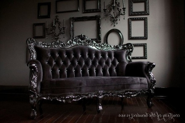 Newest New Gothic Couch 94 In Sofas And Couches Ideas With Gothic Couch Inside Gothic Sofas (View 9 of 10)