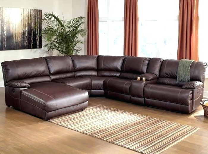 Newest Power Sectional Sofa Leather Recliner Sectional 572 Reclining Inside Leather Motion Sectional Sofas (View 9 of 10)