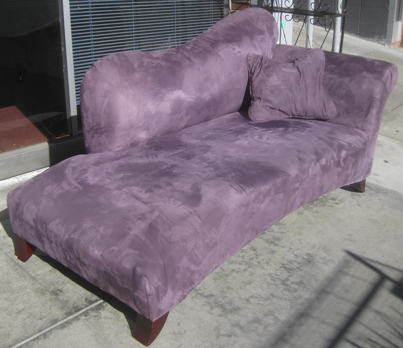 Newest Purple Chaise Lounges For Uhuru Furniture & Collectibles: Sold – Purple Chaise Lounge – $ (View 7 of 15)