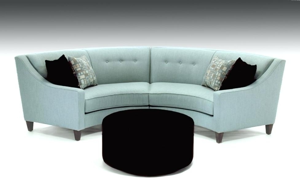 Newest Rounded Sofas Living Room Design Best Curved Sectional Sofas For Rounded Sofas (View 7 of 10)