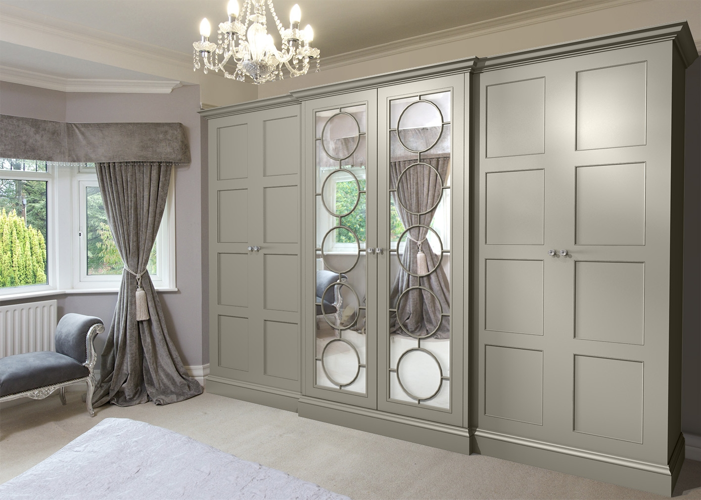 Newest Signature Wardrobes Within The Beautiful Wardrobe Company : Contact : Bespoke Fitted (View 5 of 15)