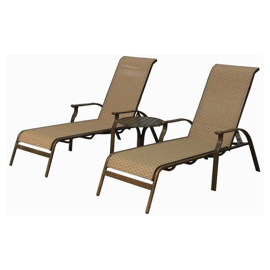 Newest Sling Chaise Lounges For Sling Chaise Lounge – Sling Chaise Lounge Outdoor Furniture, Sling (View 4 of 15)