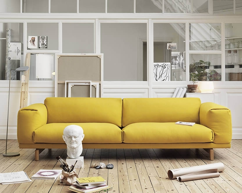 Newest Why The Chunky Low Sofa Has Our Attention – Emily Henderson Within Low Sofas (View 5 of 10)