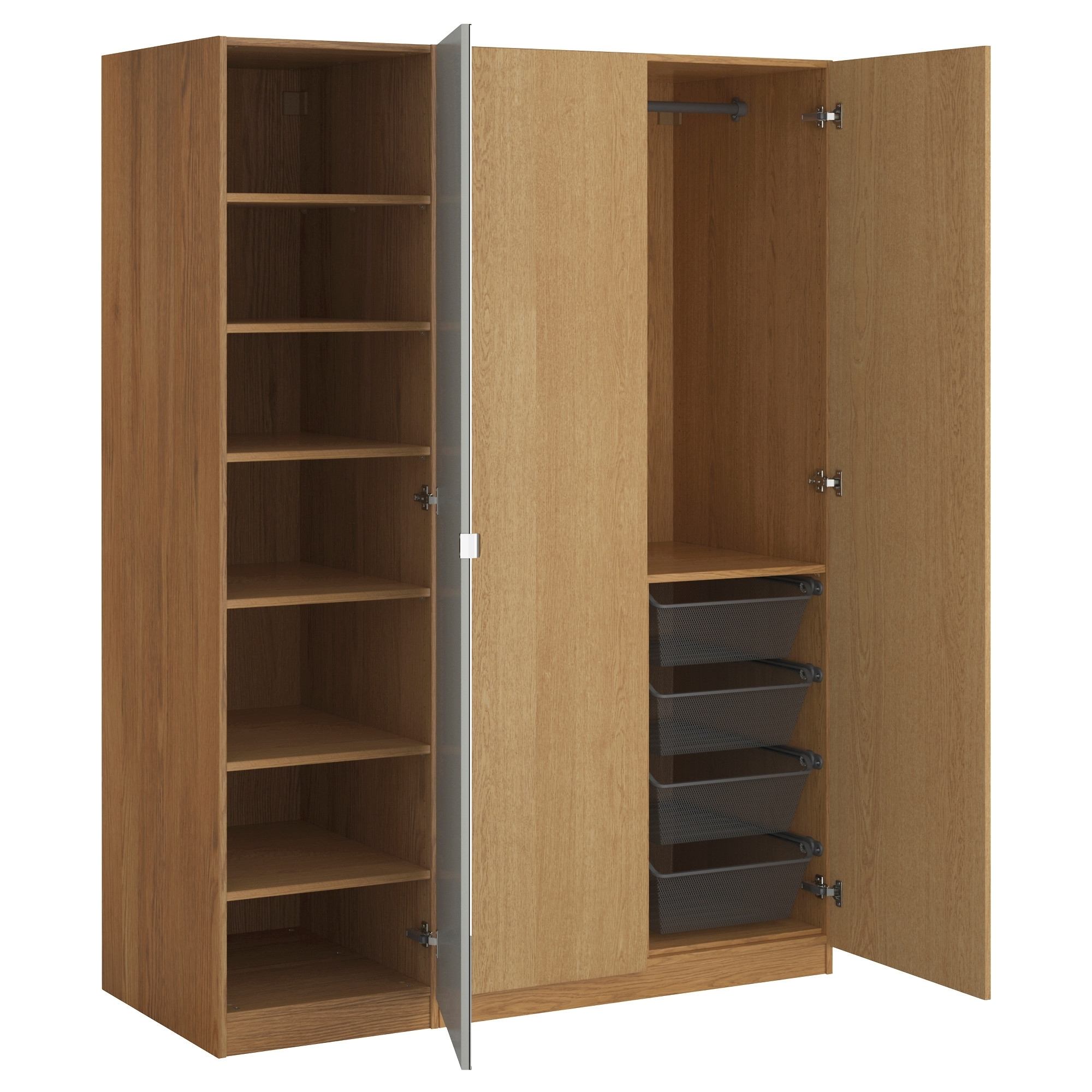 Nightstand : Beautiful Pax Wardrobe Assembled In Bathroom Bromley Regarding 2018 Cheap Wardrobes Sets (View 14 of 15)