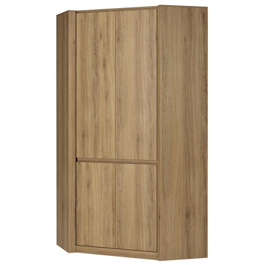 Oak Corner Wardrobes Pertaining To 2017 Abdabs Furniture – Hobby Oak Effect Corner Wardrobe (View 9 of 15)
